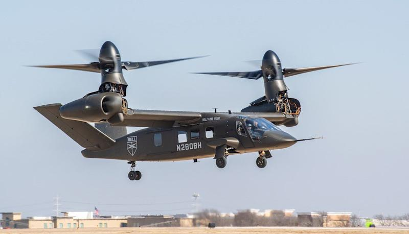 The Army's future vertical lift plan may have a supplier problem