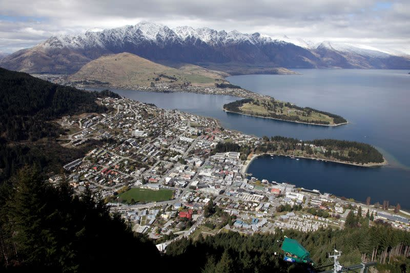 FILE PHOTO: A general view of Queenstown