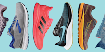 """<p>Here's a case for Memorial Day resolutions instead of New Year's—it's warmer outside, and there are sales on some of the best workout gear available. Whether you wanted to sign up for a race, reach a PR, or start adding running to your daily routine, there's no time like the present. Plus, thanks to these sales, you can stock up on some of the most popular running shoes from brands like Brooks, Nike, and Saucony for up to —and sometimes over—50% off!</p><p>We selected some of our <a href=""""https://www.runnersworld.com/gear/a19663621/best-running-shoes/"""" rel=""""nofollow noopener"""" target=""""_blank"""" data-ylk=""""slk:favorite shoes from trusted brands"""" class=""""link rapid-noclick-resp"""">favorite shoes from trusted brands</a> so you can start shopping before the long weekend officially starts. Note that size and color section of these shoes are limited, and sale prices may differ, so shop sooner rather than later for the most availability. Shop the best running shoe sales now for Memorial Day 2021.</p>"""