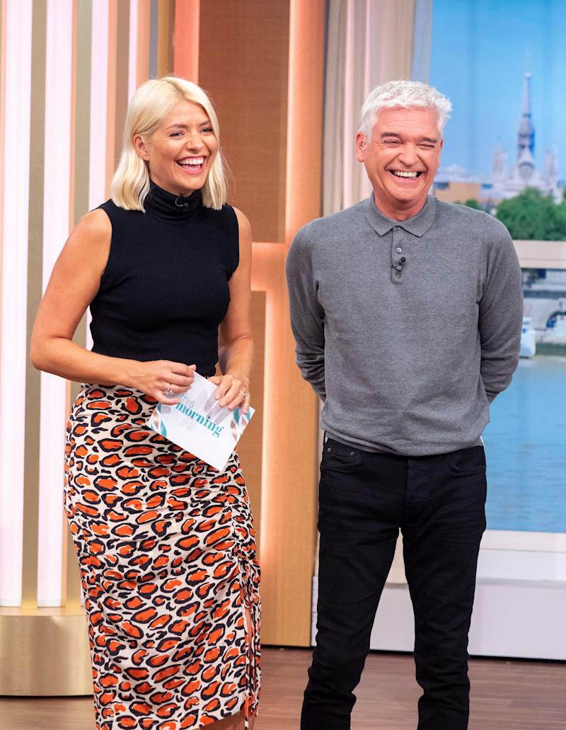 Holly Willoughby and Phillip Schofield on This Morning (Photo: Ken McKay/ITV/Shutterstock)