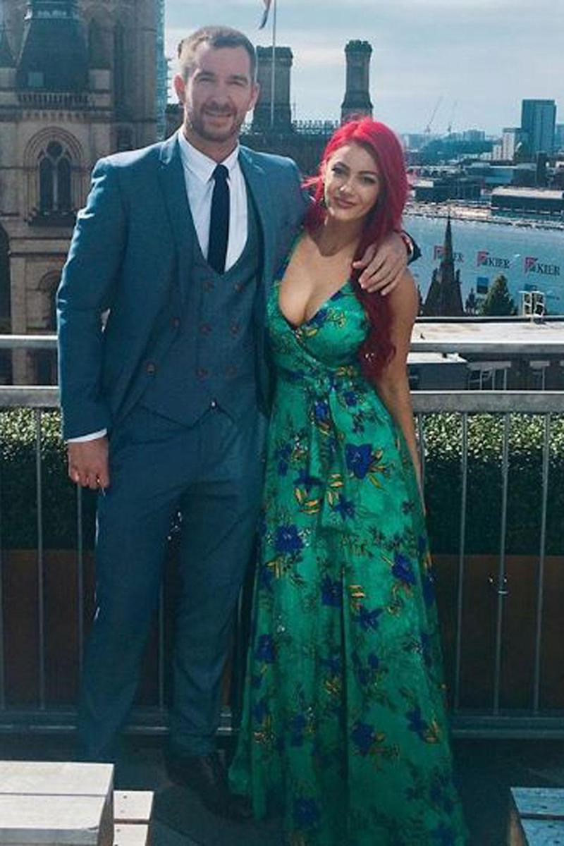 Happier times: Dianne Buswell and Anthony Quinlan (Instagram / Dianne Buswell)