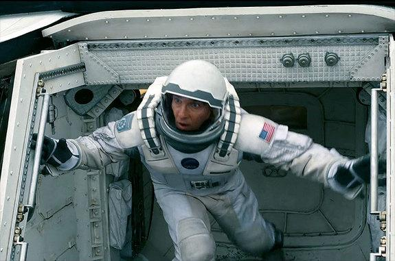 "The Endurance mission patch can be seen on the right shoulder of Matthew McConaughey's ""Interstellar"" spacesuit."