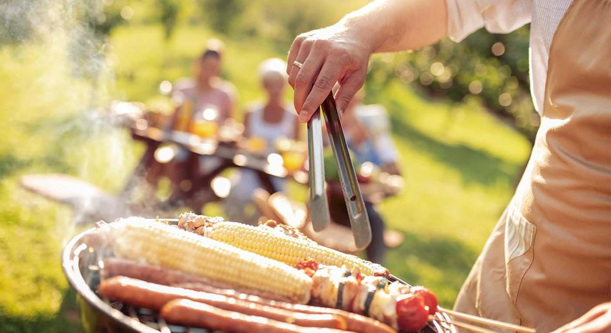 Enjoy the rest of the summer with Homebase's bargain BBQ, which is now only £25.  (Getty Images)