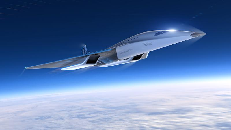 The Virgin Galactic aircraft will fly at an altitude of 60,000ft (PA)