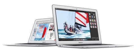The new MacBook Air features all day battery life, fourth generation Intel Core processors, 802.11ac ...