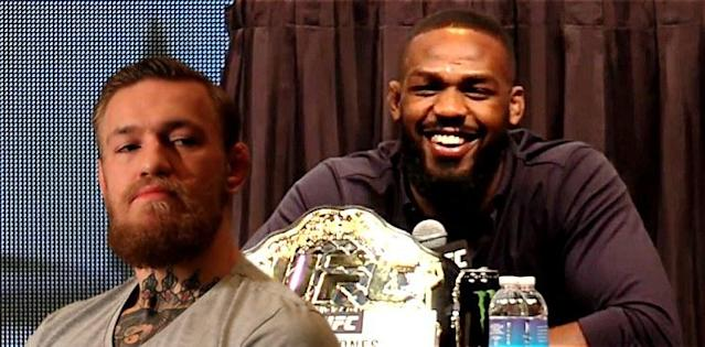 Conor McGregor and Jon Jones No 1