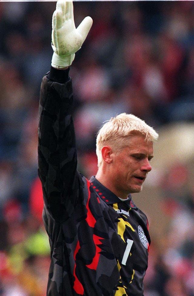 Peter Schmeichel's final game for Denmark was 20 years ago