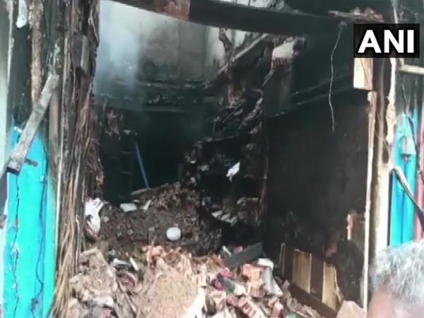 A visual from the fire incident in Madurai, Tamil Nadu. (Photo/ANI)