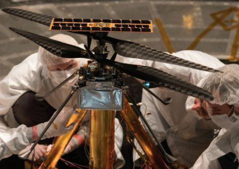 This Mars helicopter will be the first ever to fly on ...