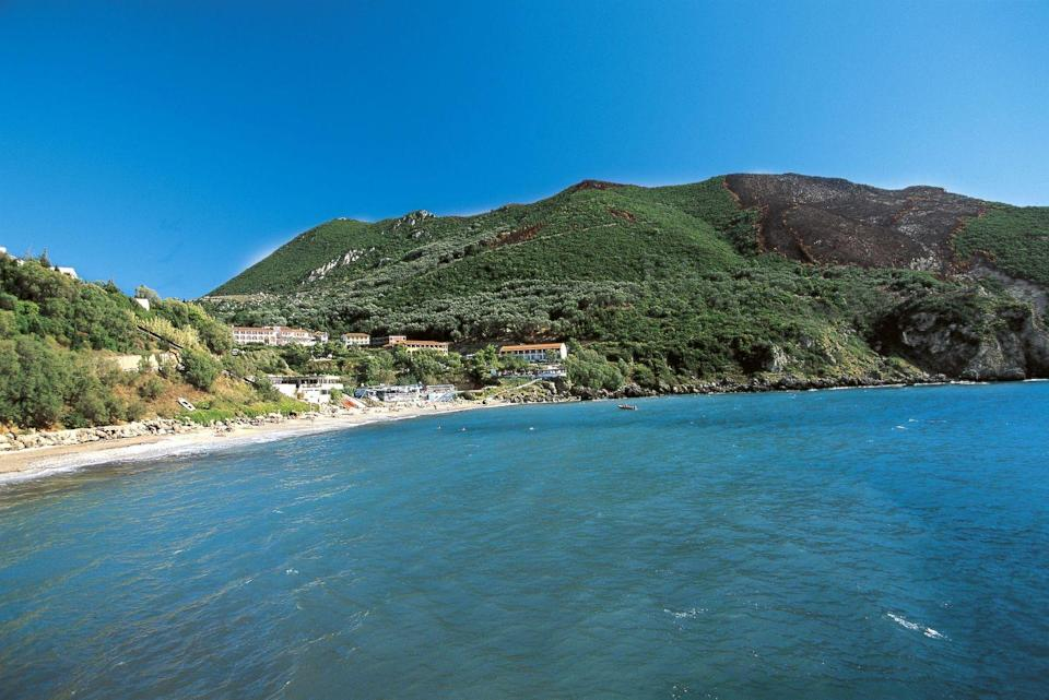<p>This island off of Greece's northwest coast has rugged mountains and plenty of resorts along the shore. It also has plenty of history and culture, including medieval lanes, the grand Palace of St. Michael and St. George, and Venetian fortresses to check out. </p>