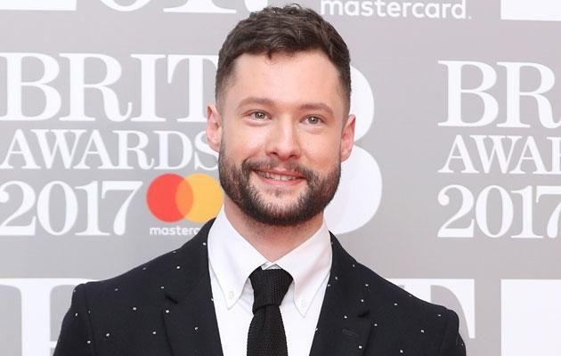 Calum Scott, here at the Brits 2017, was in for a shock during his chat with Be. We have the photos to prove it. Source: Getty