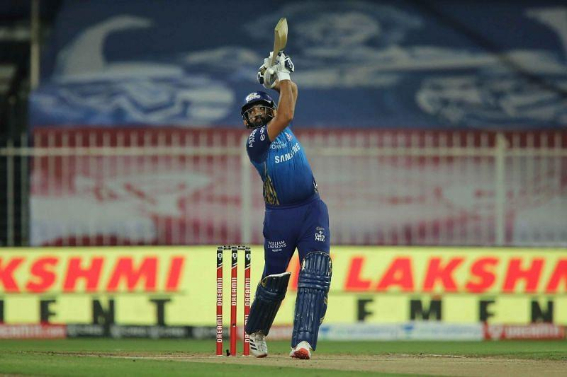 Rohit Sharma's return to action didn't quite go as planned. [PC: iplt20.com]