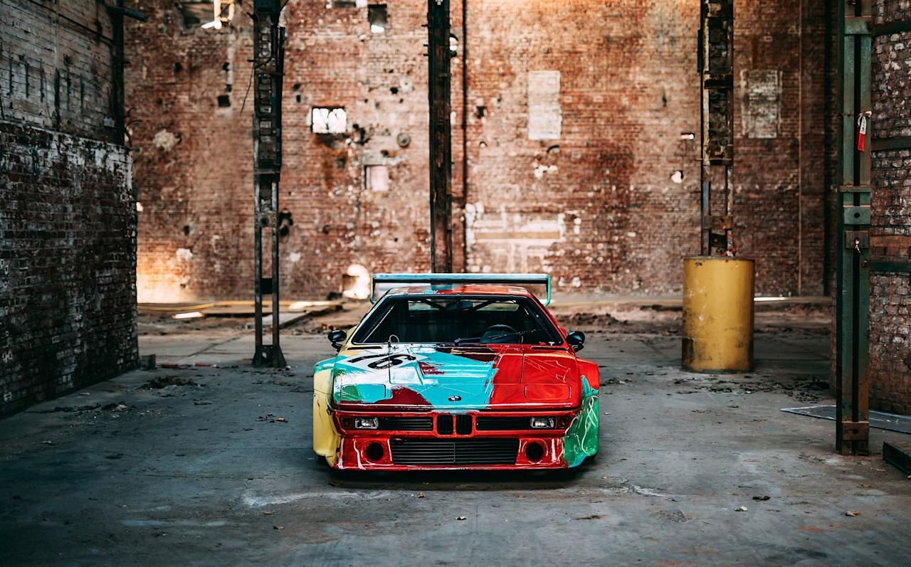 <p>In 1979, Andy Warhol was commissioned to create the fourth car in BMW's original Art Car collection. Using an M1 race car, he created what would become one of the company's most eye-catching designs. Now, 40 years later, BMW takes a look back at the car in a new light with this set of photos. Here's a small glimpse at the history of BMW Art Car #4. </p>