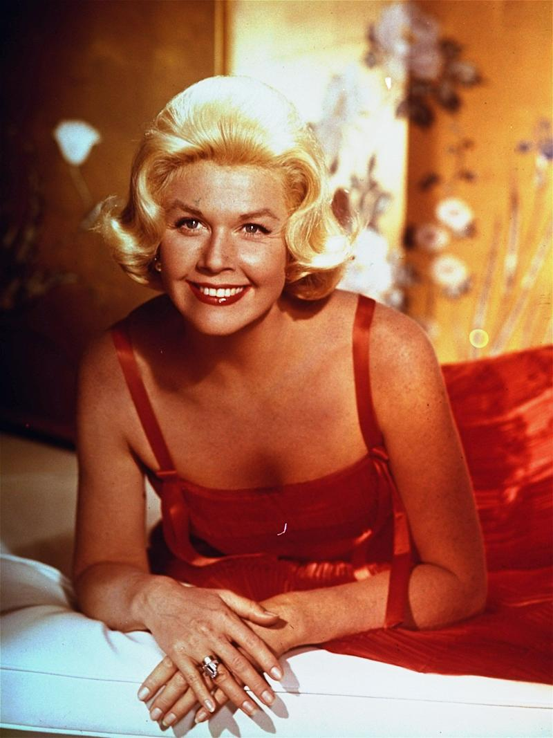 Actress-singer Doris Day, is shown in this 1962 photo, was a recording star in the 1940s , and a popular film star from the early1950s through the early 1960s. (AP Photo)