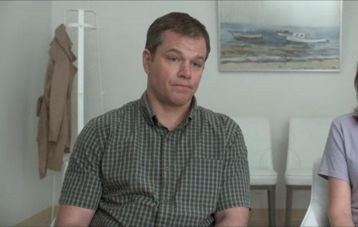It's none other than Matt Damon. Source: Paramount Pictures