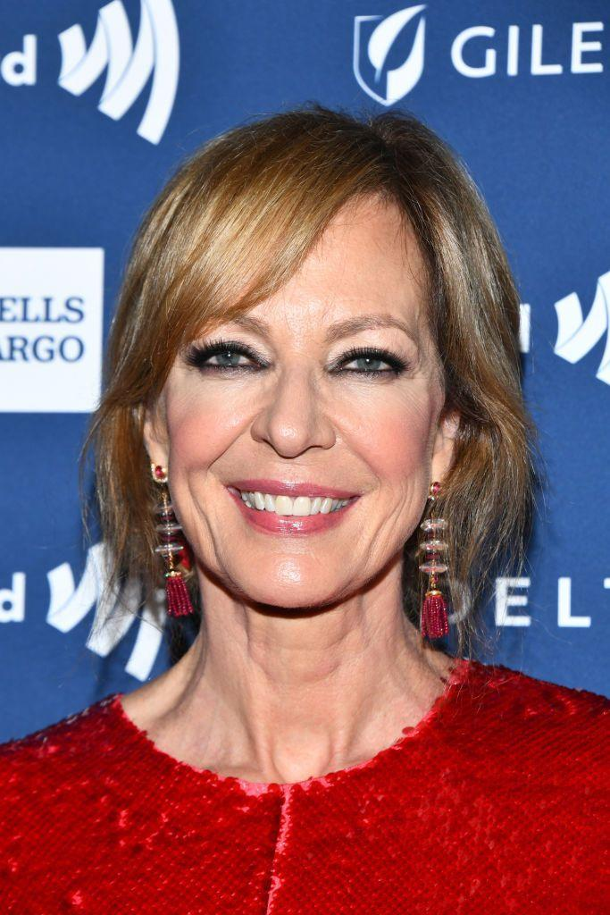 """<p>If you're a blonde who wants to mix it up in the fall but also doesn't want to have to deal with regular salon visits, you really can't go wrong with actress<strong> Allison Janney</strong>'s combination of brunette and blonde. """"This is a great way to go lighter without requiring tons of upkeep or damage to the hair,""""said Papanikolas. """"The highlights act as an accent and give the hair movement and dimension, rather than a drastic color change.""""</p>"""