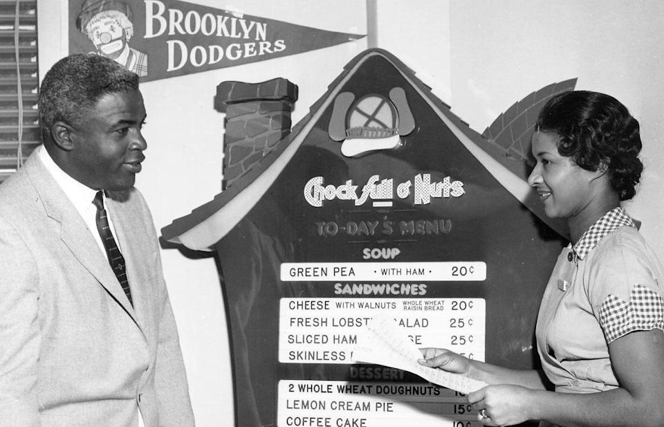 Jackie Robinson becomes Vice President of Personnel Relations for Chock Full 'oNuts in 1957 - The Jackie Robinson Foundation