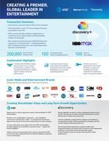 Creating a Premier Global Leader in Entertainment