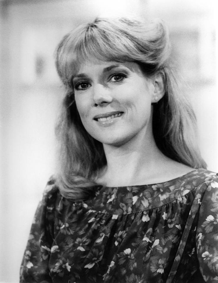 "<b>Julia Duffy</b> as Stephanie Vanderkellen, ""Newhart"" (1982-1990)<br><br>Outstanding Supporting Actress in a Comedy Series<br><br>0 wins, 7 consecutive nominations (1984-1990)"