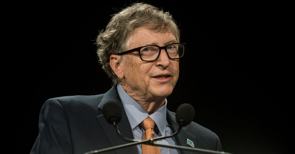 The Microsoft co-founder allegedly pursued women he worked with. (Image: Getty).