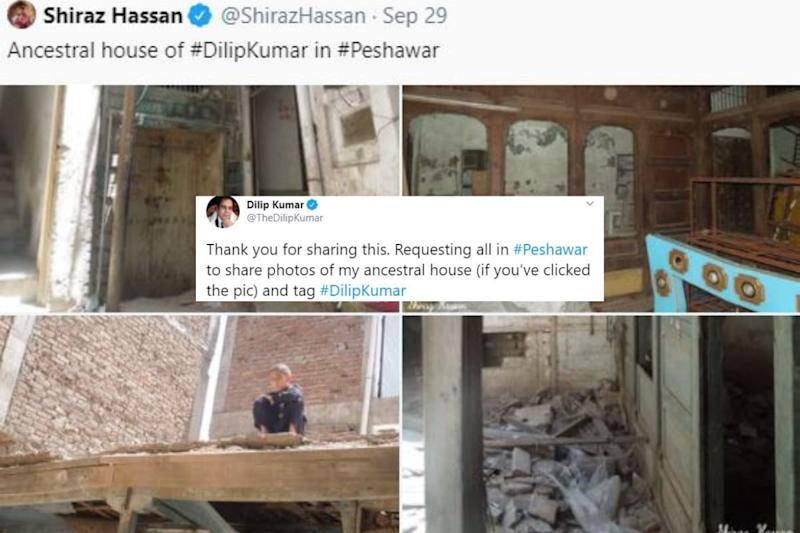 Dilip Kumar Urges People of Peshawar to Share Pictures of His Ancestral Home bought by KPK Govt