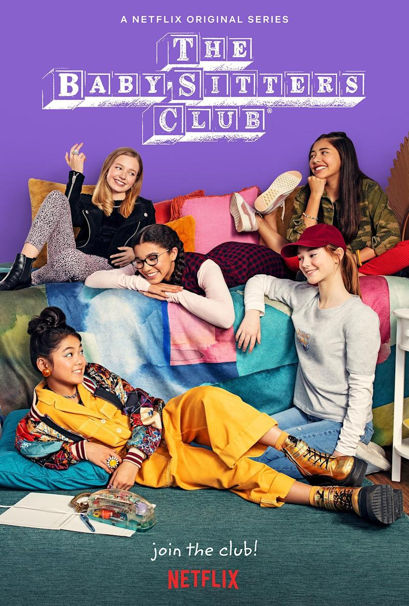 Gen-Z Baby-Sitters Club assembles in first look at Netflix's new series