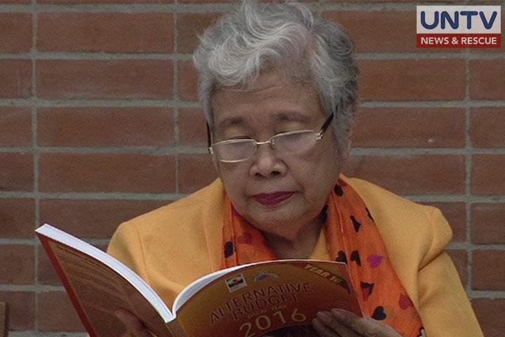 FILE PHOTO: Department of Education Secretary Leonor Briones