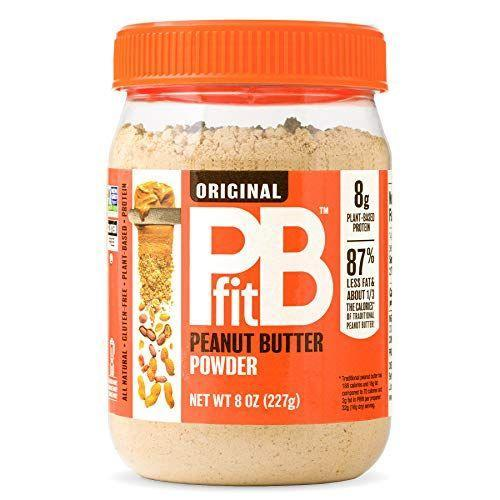 """<p><strong>PBfit</strong></p><p>amazon.com</p><p><strong>$7.49</strong></p><p><a href=""""https://www.amazon.com/dp/B01MSFS5U8?tag=syn-yahoo-20&ascsubtag=%5Bartid%7C2143.g.36887934%5Bsrc%7Cyahoo-us"""" rel=""""nofollow noopener"""" target=""""_blank"""" data-ylk=""""slk:Shop Now"""" class=""""link rapid-noclick-resp"""">Shop Now</a></p><p>This protein powder is the perfect alternative to peanut butter in your smoothie. And you'll save 29%!</p>"""