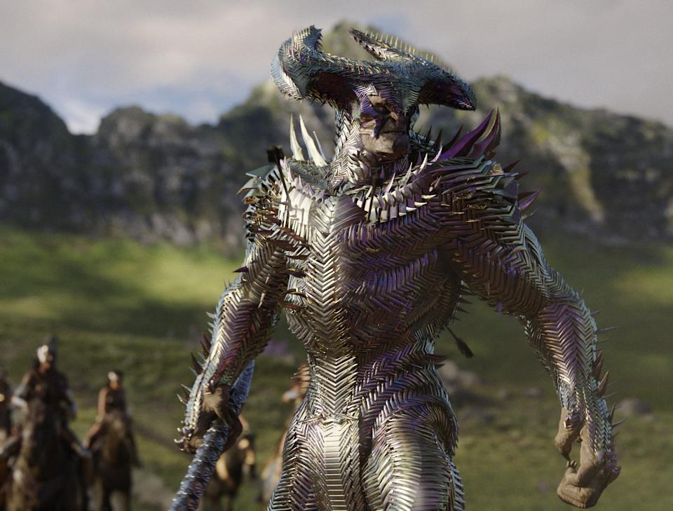 Snyder imagined the villain Steppenwolf as a