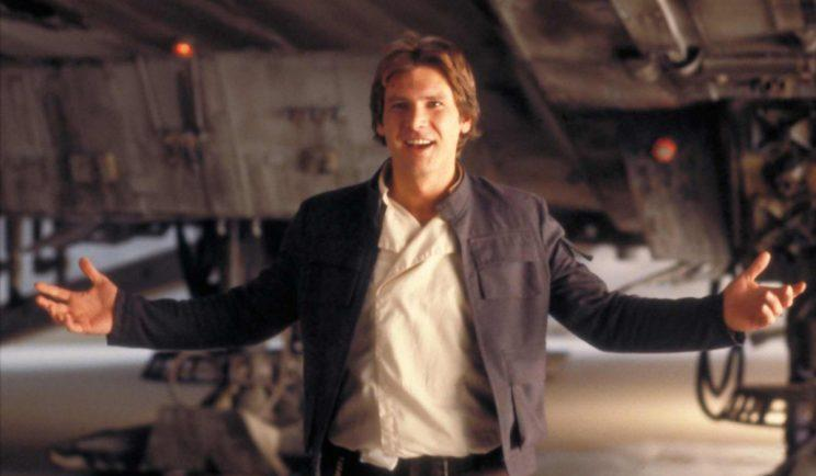 Harrison Ford as the original Han Solo - Credit: Lucasfilm