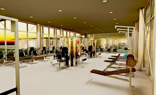 Miralon fitness center (Rendering by Freehold Communities)