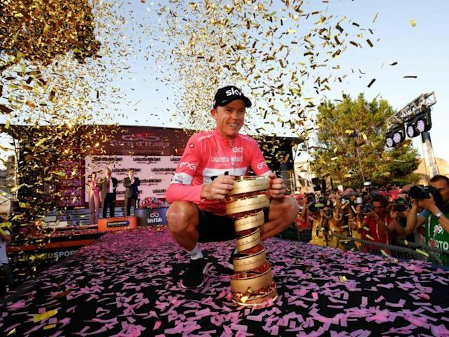 Chris Froome completes remarkable comeback to win Giro d'Italia and complete set of Grand Tour victories