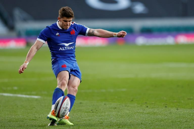 Matthieu Jalibert has scored 30 points in this year's Six Nations