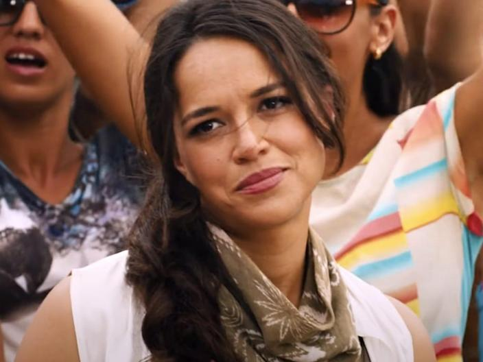 """Michelle Rodriguez as Letty in """"The Fate of the Furious."""""""