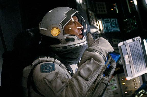 "A spacesuited Matthew McConaughey is revealed in a new trailer for Christopher Nolan's ""Interstellar."""