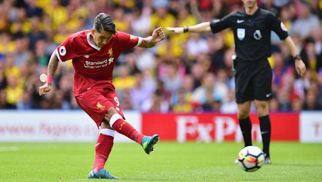 <p><strong>1 goal, 1 assist</strong></p> <br><p>It was Liverpool's defence, not attack, that cost the Reds two points on the opening day of the season in a 3-3 draw with Watford.</p> <br><p>Wearing his new number nine shirt, Roberto Firmino scored from the penalty spot as well as turning provider so that summer signing Mohamed Salah could also mark his return to English football with a goal in the same game.</p>