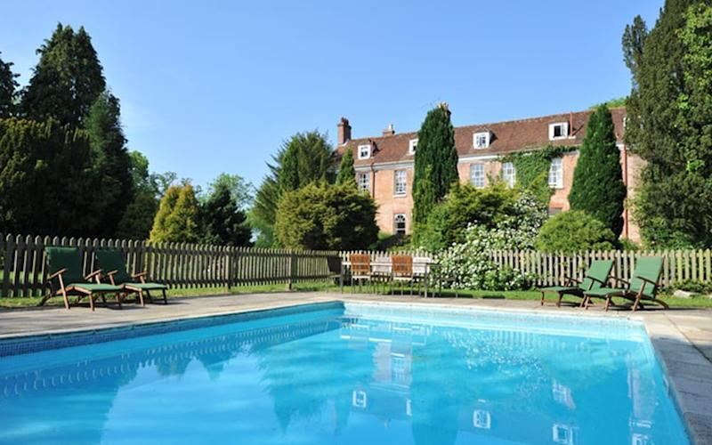 New Park Manor, New Forest - one of Britain's best hotels with outdoor pools
