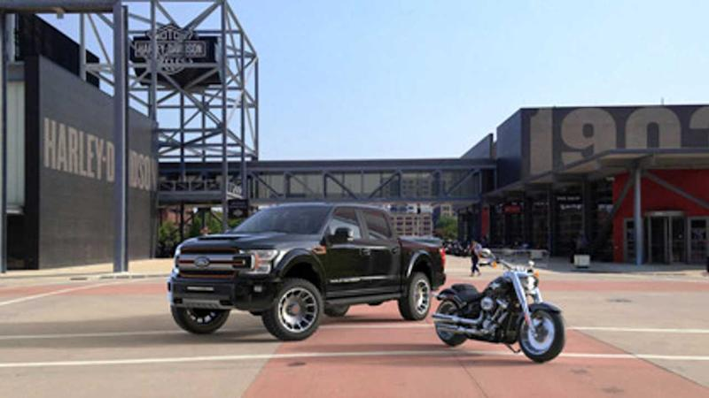 Get A Free Supercharger With A New Harley-Davidson Ford F-150