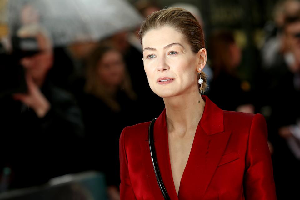 Rosamund Pike says her image has been Photoshopped in past movie posters. (Photo: PA)