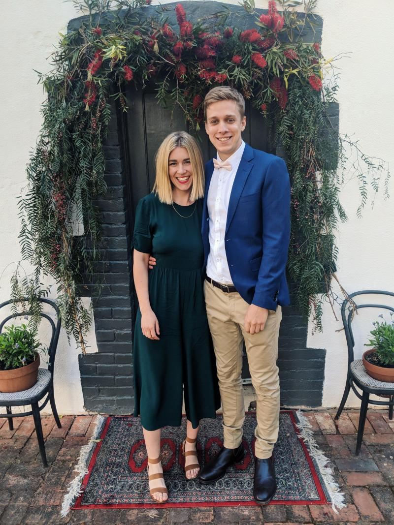 Nick Jungfer and Maddie Rhodes. Image: Supplied