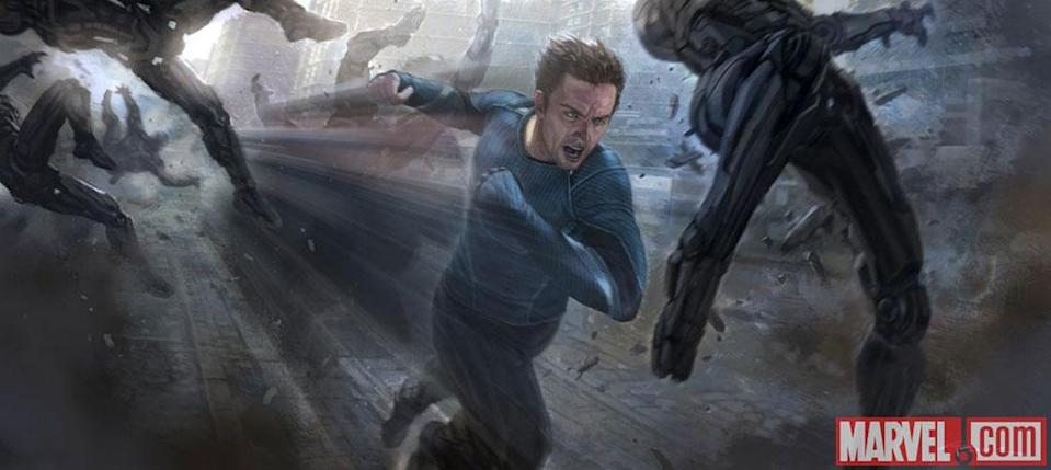 Quicksilver concept art for 'The Avengers: Age of Ultron' (Marvel)