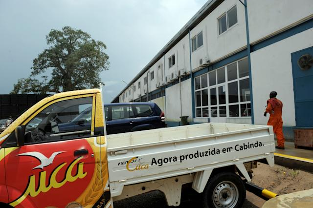 Foreign companies in Cabinda