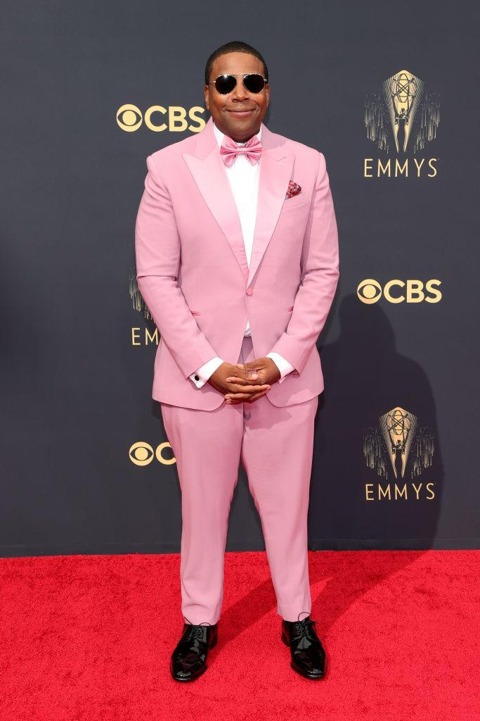 Kenan Thompson attends the 73rd Primetime Emmy Awards on Sept. 19 at L.A. LIVE in Los Angeles. (Photo: Rich Fury/Getty Images)