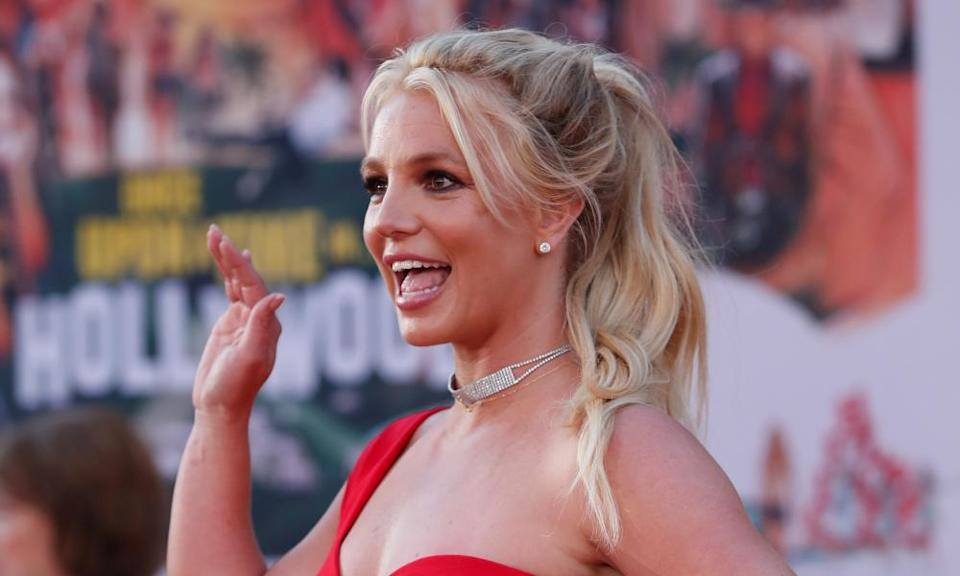 Britney Spears at a Los Angeles movie premiere in July 2019.