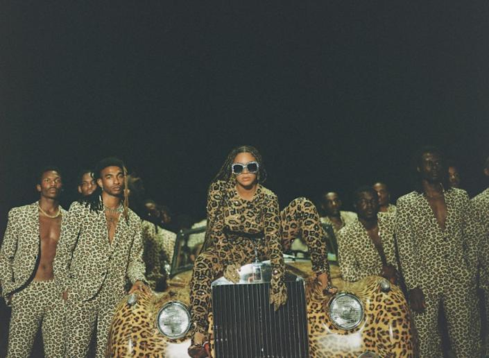 "Beyoncé's visual album ""Black Is King"" is now streaming on Disney+. <span class=""copyright"">(Travis Matthews)</span>"