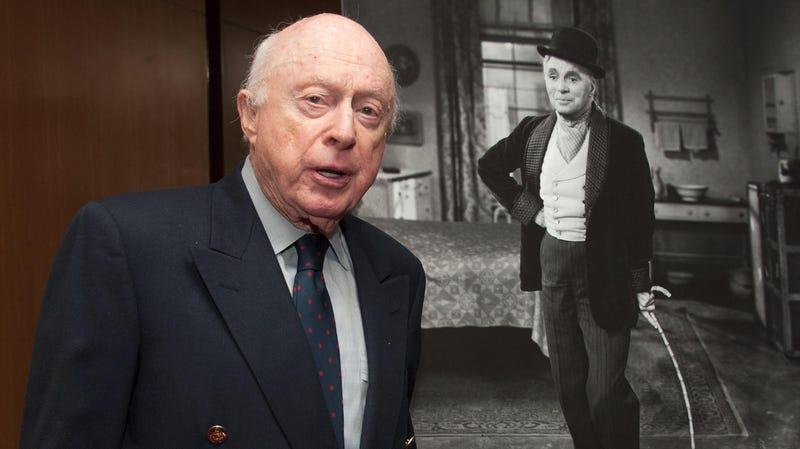 """Norman Lloyd at The Academy Of Motion Picture Arts And Sciences' Presents The 60th Anniversary Screening Of """"Limelight"""" at AMPAS Samuel Goldwyn Theater in 2012."""
