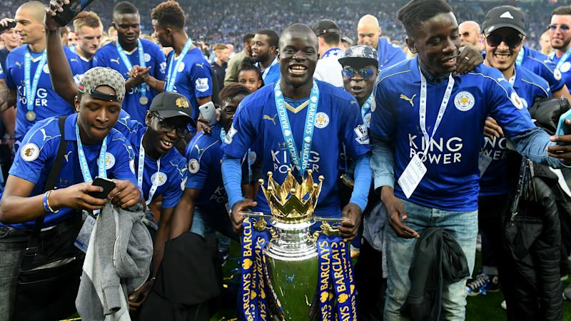 HD N'Golo Kante Leicester City