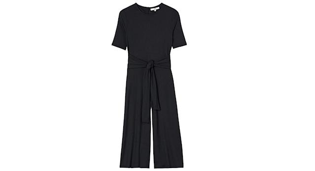 find. Women's Rib Cropped Jersey Jumpsuit