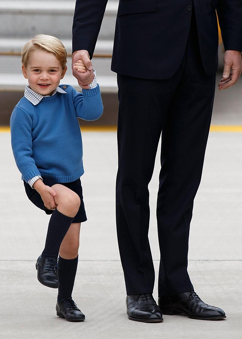 <p>Sometimes he'd wear high socks. [Photo: Getty] </p>