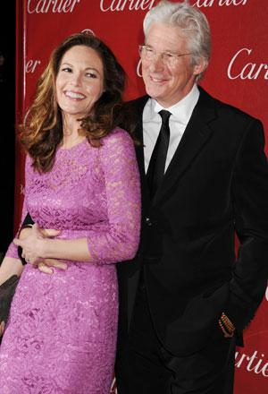 Diane Lane and Richard Gere in Palm Springs